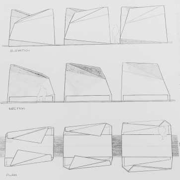 Hand drawings - Unfolding