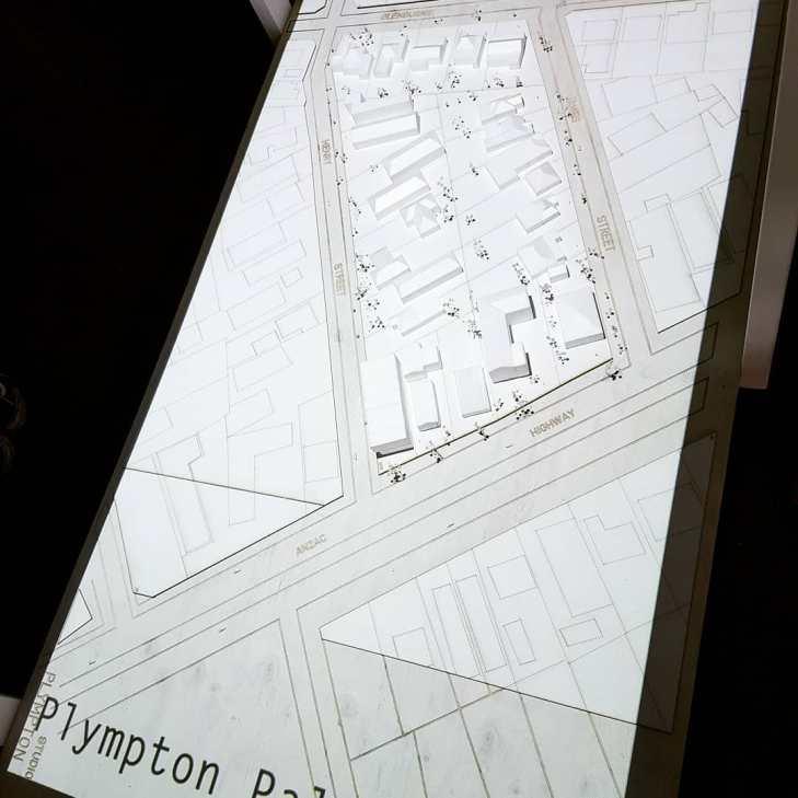 Plympton site - Palimpsest
