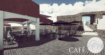 Public cafe space - Evolution