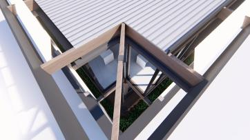 3D Perspective (roof and drainage) - Immersion B