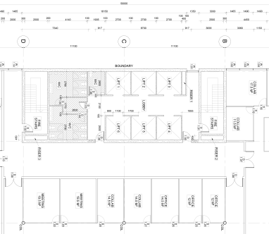 Typical floor plan (core) - Documentation 3