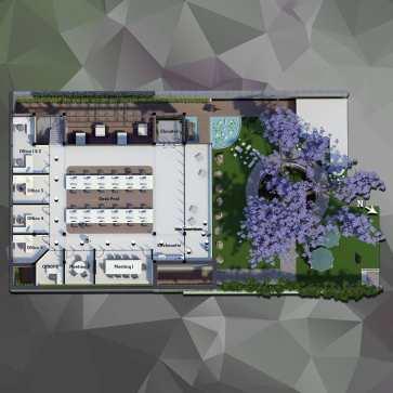 3D plan (first floor) - Immersion A