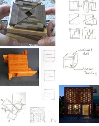 Iterations & References - Puzzlebox