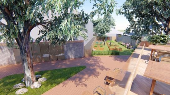 Community hub, garden & farm - Synthesis