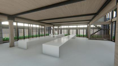 3D Perspective (ground floor) - Immersion B