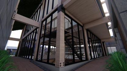 3D Perspective (rear entryway) - Immersion B