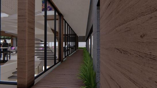3D Perspective (path of the rogue archetype / rear entryway) - Immersion A