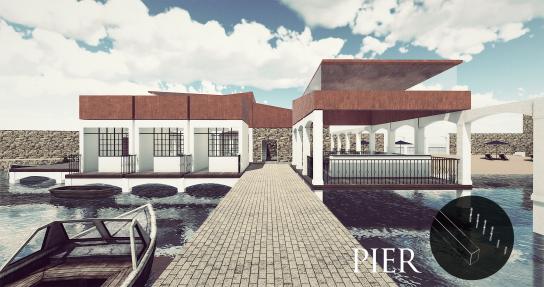 Private pier - Evolution