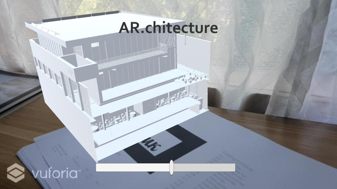 Augmented Reality building model - Immersion B